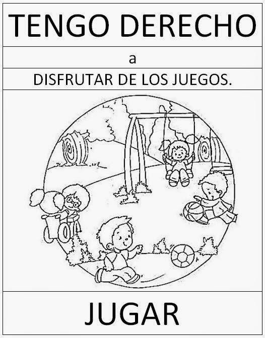 Dibujos Derechos De Los Ninos Para Colorear Imagesacolorierwebsite