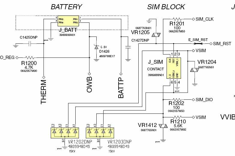 Cara Perbaikan Handphone Motorola V3 dan V3i