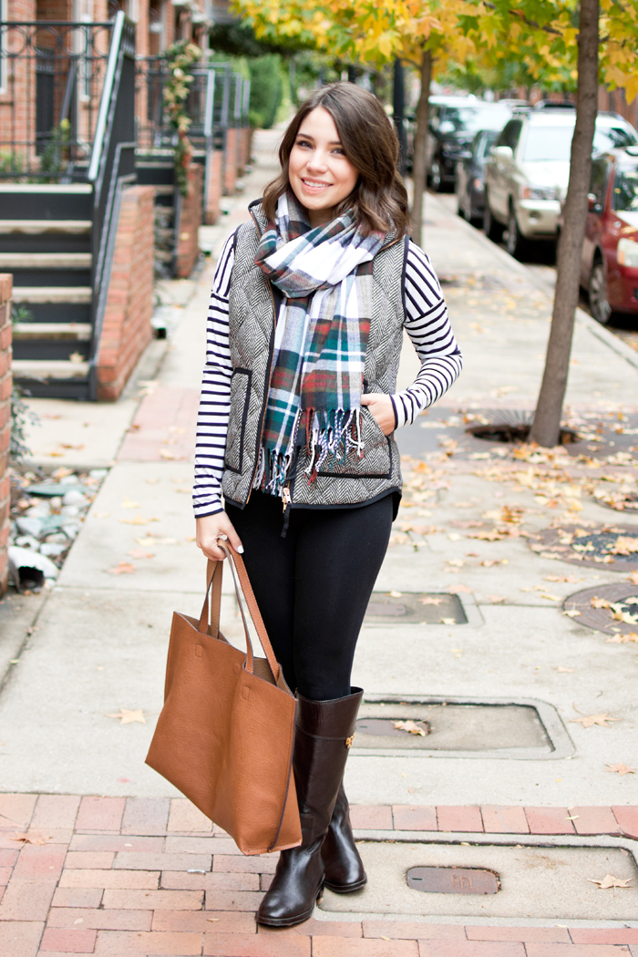 winter basics outfit fashion blogger holiday style