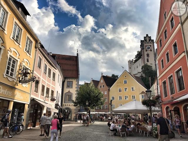 Reihenstrabe Füssen Alemanha