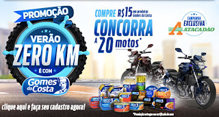 Promoção Verão Zero KM Gomes da Costa