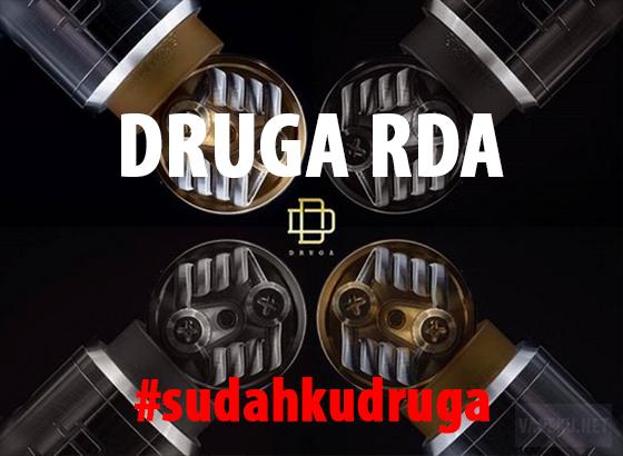 Sedang Ngehits, Begini Spesifikasi dan Review RDA DRUGA