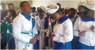Update: Bishop's 16-year-old son ties the knot with his 15-year-old bride