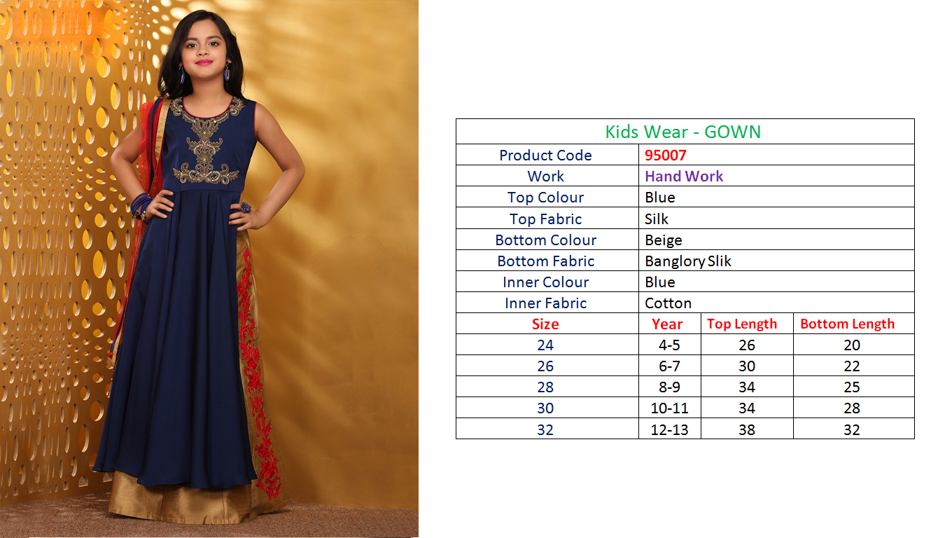 Angel – New Kids Collection Of Heavy Party Wear Designer Gown