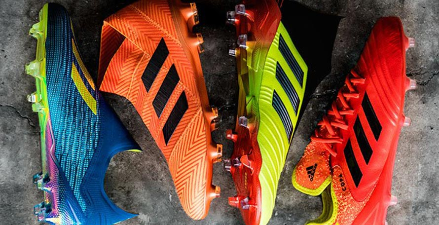 392448b2fd165e The Adidas Energy Mode pack, the Three Stripes' official 2018 World Cup  boots collection, has been finally launched this morning. The cleats will  be worn by ...
