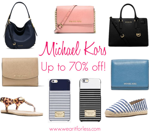 Julia Medium Leather Shoulder Bag • Michael Kors • $138 Dillon Saffiano Leather Satchel • Michael Kors • $156.45 Selma Medium Metallic Leather Satchel • Michael Kors • $156.45 Julia Large Leather Satchel • Michael Kors • $160.50 Jet Set Travel Large Crossbody • Michael Kors • $88.20 Jet Set Travel Saffiano Leather Smartphone Crossbody • Michael Kors • $88–168 Greenwich Small Saffiano Leather Crossbody • Michael Kors • $78 Jet Set Large Saffiano Leather Crossbody • Michael Kors • $88–168 Bedford Large Calf Hair Wristlet • Michael Kors • $51.75 Liane Small Leather Card Holder • Michael Kors • $51.45 Ava Saffiano Leather Card Holder • Michael Kors • $51.45–98 Liane Small Leather Card Holder • Michael Kors • $51.45 Kendrick Floral-Print Canvas Slip-On Espadrille • Michael Kors • $46.72 Hazel Jelly Sandal • Michael Kors • $41.47 Kendrick Striped Canvas Espadrille • Michael Kors • $46.73 Kendrick Denim Slip-On Espadrille • Michael Kors • $46.72 Crystal Gunmetal-Tone Leather Bracelet • Michael Kors • $42.50 Rose Gold-Tone Open Cuff • Michael Kors • $35.62 Crystal Logo Gold-Tone Cuff • Michael Kors • $31.87 Crystal Gunmetal-Tone Leather Bracelet • Michael Kors • $28.12 Striped Smartphone Case • Michael Kors • $20.63 Tortoise-Acetate Smartphone Case • Michael Kors • $18.75 Striped Smartphone Case • Michael Kors • $18.75 Logo Smartphone Case • Michael Kors • $16.88