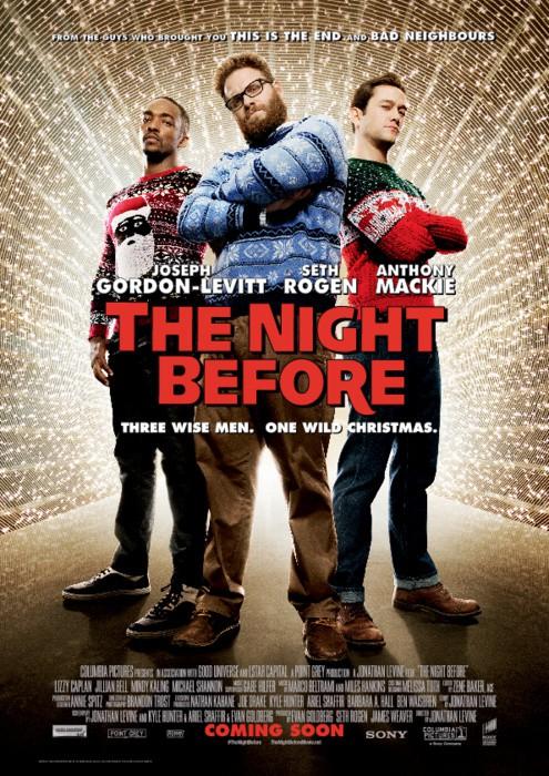 The Night Before แก๊ง 3 เฟี้ยว กระเจี้ยวแพะ [HD][พากย์ไทย]