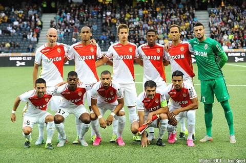 Đội hình ra sân của Monaco