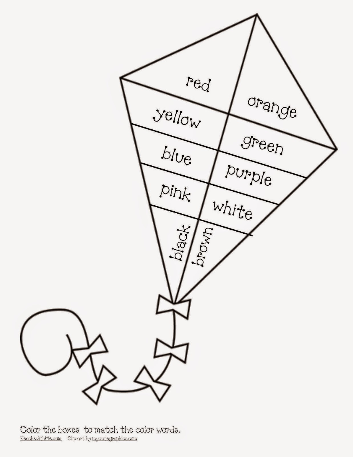 Parallelogram Coloring Pages