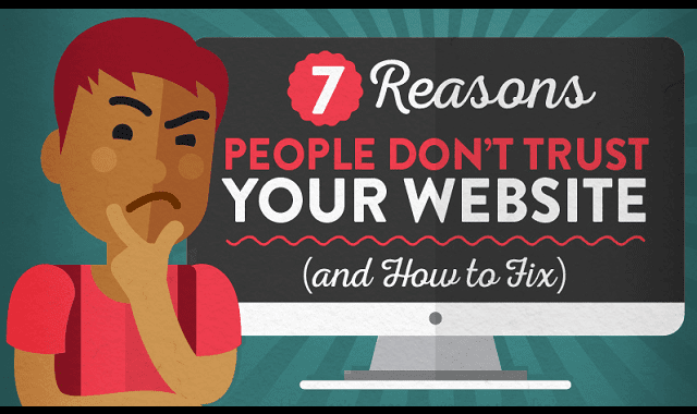 7 Reasons People Don't Trust Your Website