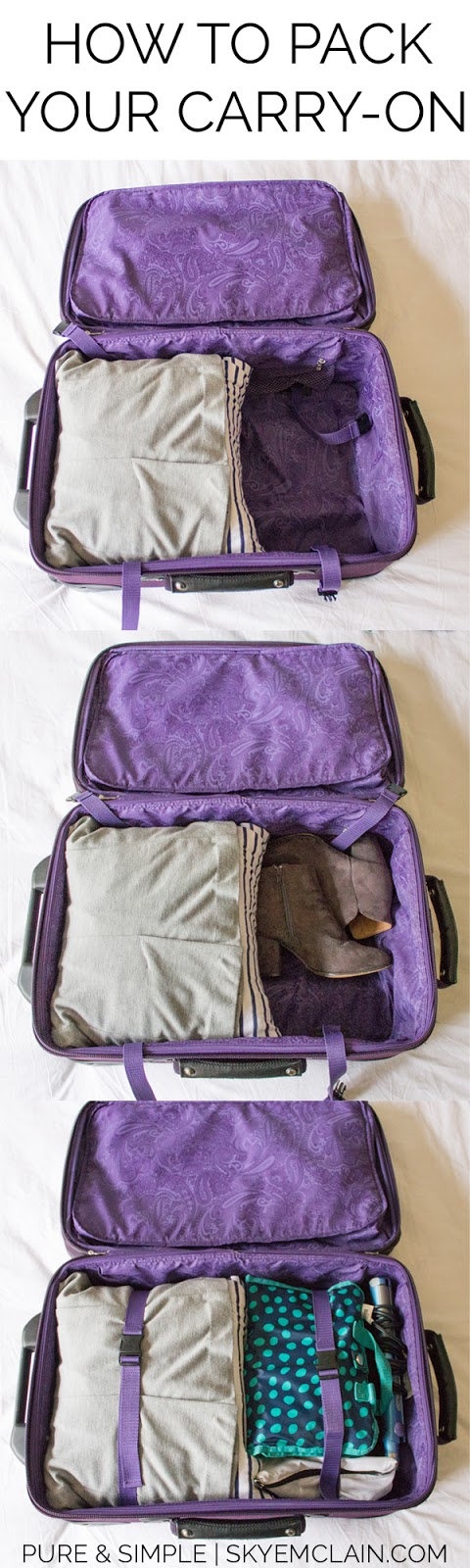 How to Pack Your Carry-On: Never pay for checked baggage again! Pack everything you need for any trip into a carry on!