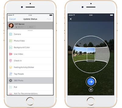 فيسبوك تتيح لمستخدميها التقاط صور بزاوية 360 درجة