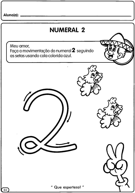 Atividades Para Educacao Infantil Numerais De 1 A 5