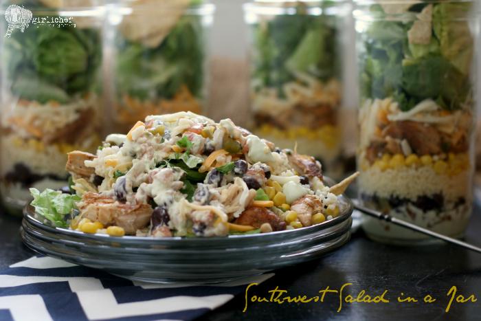 Southwest Salad in a Jar