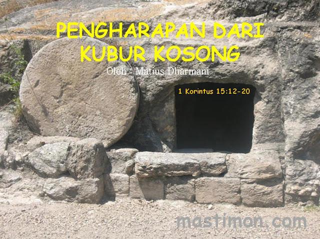 Khotbah kebangkitan Yesus | Pengharapan dari kubur kosong oleh Matius Dharmani
