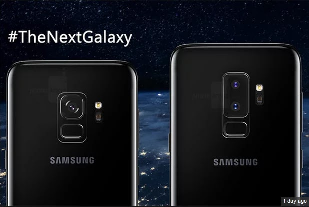 The Samsung Galaxy S9 and S9 Plus Smart Phones