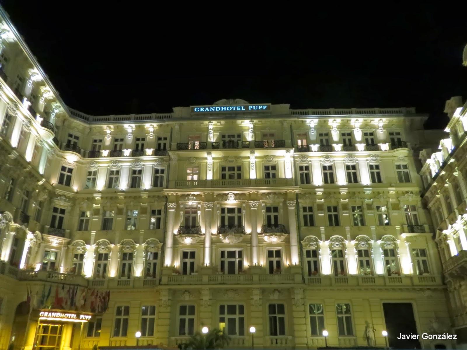 Karlovy Vary. Grand Hotel Pupp