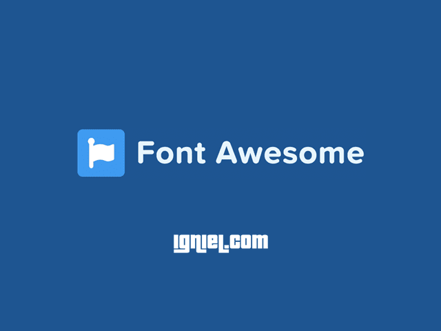 Cara Memasang dan Menggunakan Font Awesome Untuk Membuat Ikon di Blog