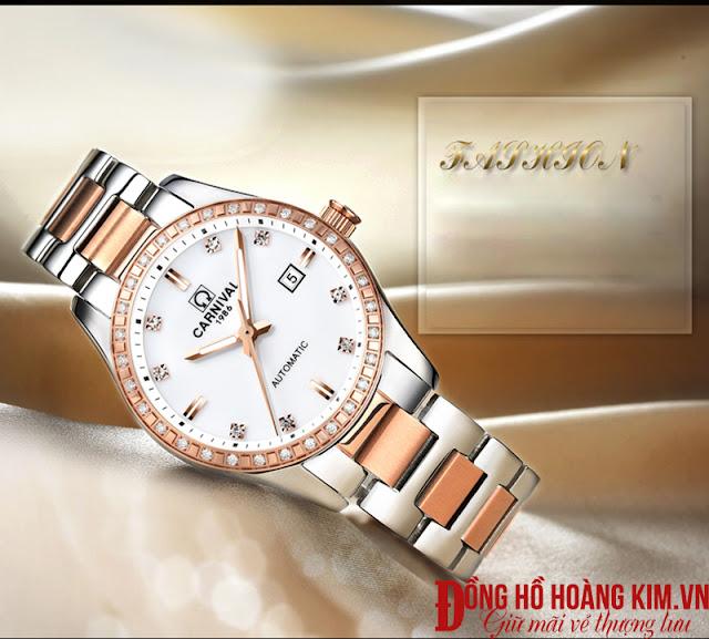 Đồng hồ nữ Carnival chính hãng Thụy Sỹ