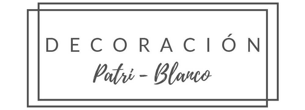Decoración Patri-Blanco