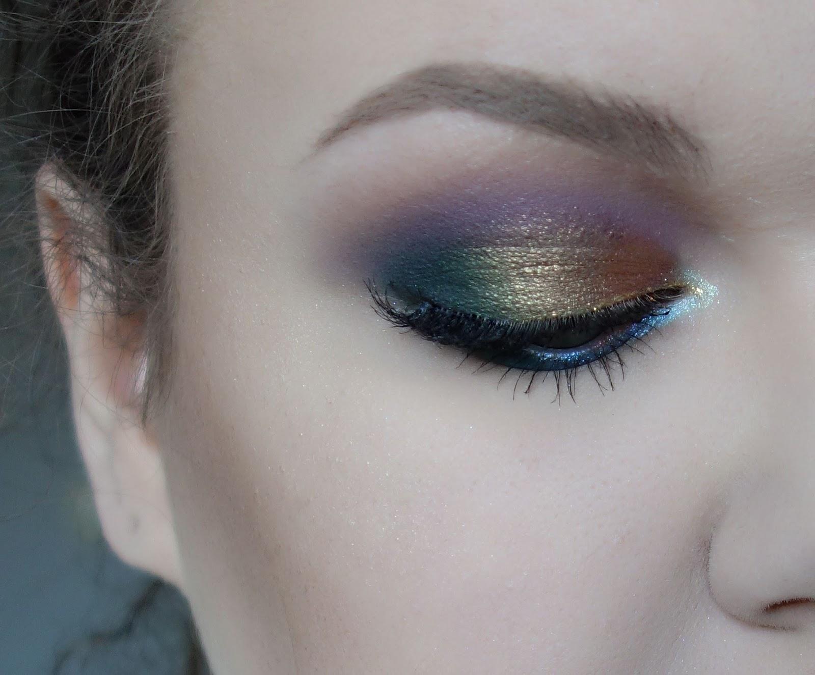 Wiosenny błyszczący makijaż | Dwie wersje koloru na ustach