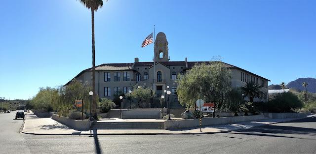 Ajo, AZ Curley School  taken  2016