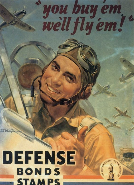 War Bonds poster worldwartwo.filminspector.com