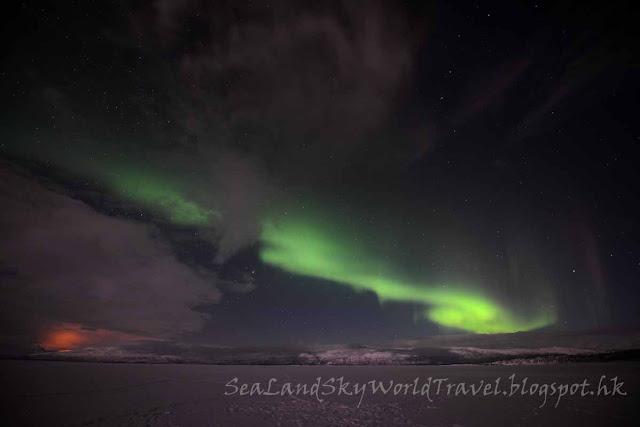 Abisko aurora, northern light, 北極光, 阿比斯庫
