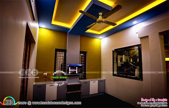 Kerala interior design work finished
