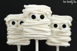 cake pops mummia