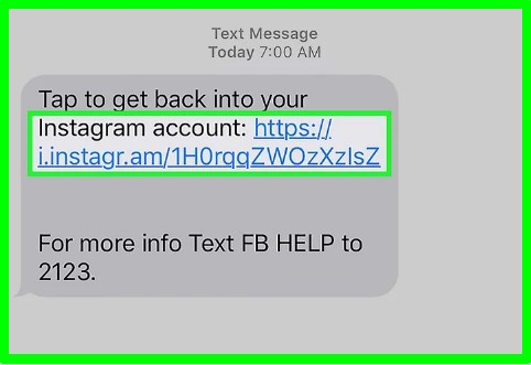 how to reset instagram password through phone number