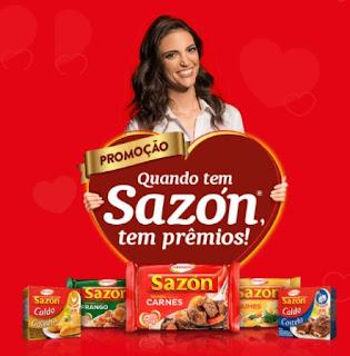 Cadastrar Promoção Sazón 2017 Quando Tem Sazón Tem Prêmios