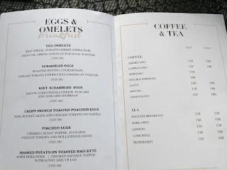 Aamiainen a la carte, Sky Lounge, Continent Hotel Bangkok