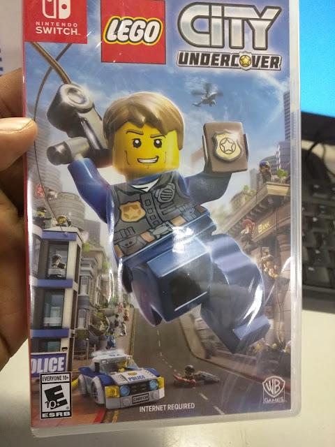 LEGO City Undercover requerirá conexión a internet en Switch y necesitará 13 GB libres