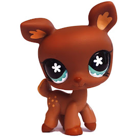Littlest Pet Shop 3-pack Scenery Deer (#670) Pet
