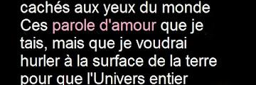 Paroles d♥amour