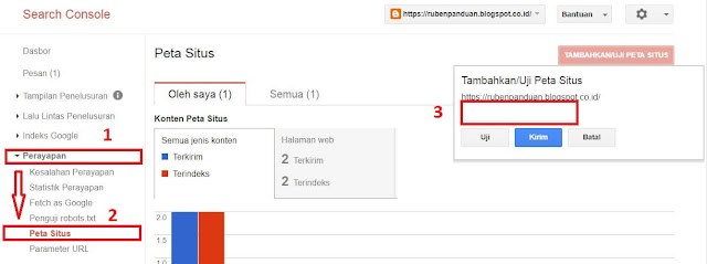 cara mendaftarkan blog di google search engine
