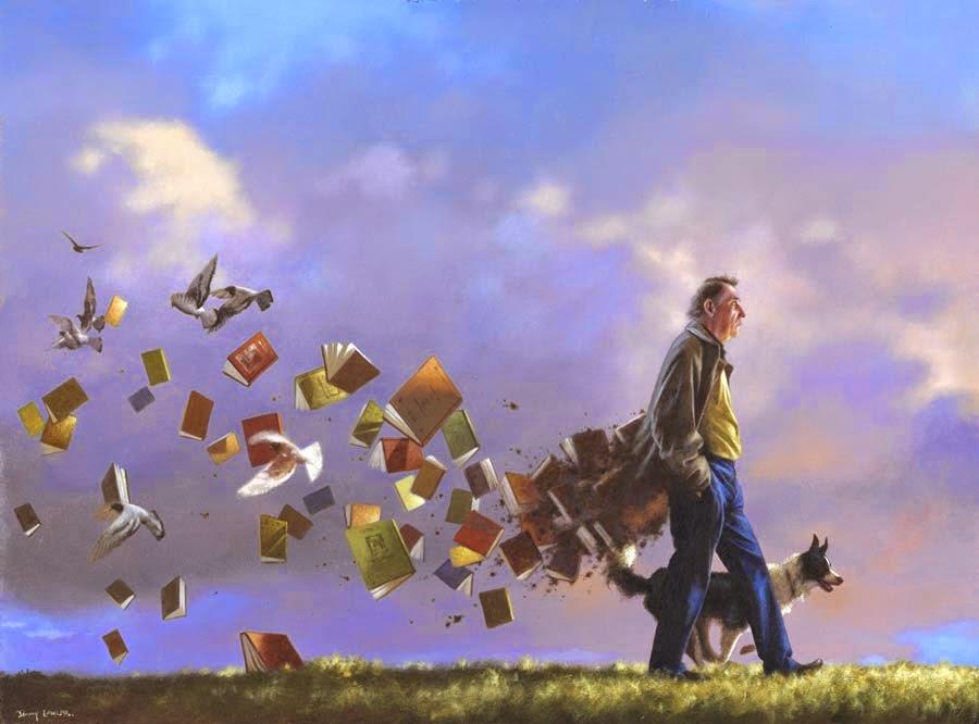 Casaco de Contos - Um mundo encantador pintado por Jimmy Lawlor
