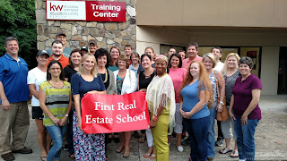 post license real estate class near Asheville, North Carolina