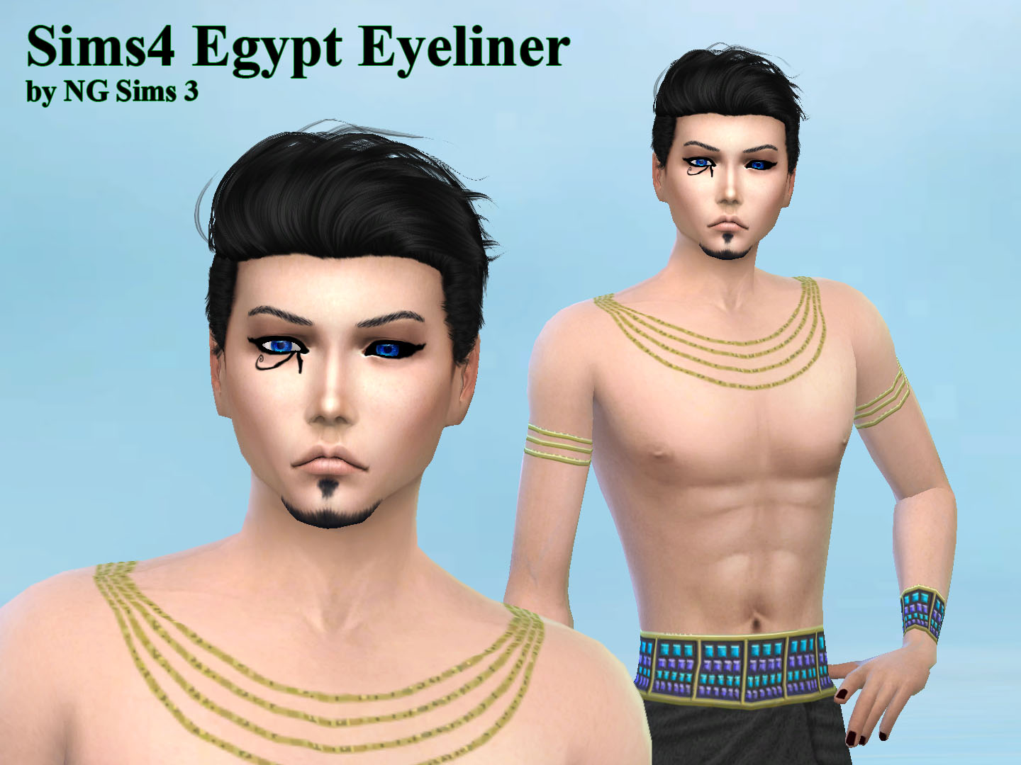 NG Sims 3: Egypt Custom Content Sims 4 Items