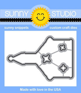 Sunny Studio Stamps: Christmas Chapel church themed winter holiday steel rule dies