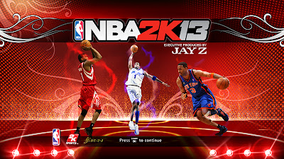 NBA 2K13 Tracy McGrady Startup Screen Cover