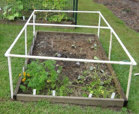 PVC Cold Frame From Charu0027s Garden