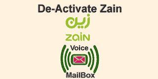 Zain Voice Mailbox De-Activation