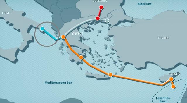 IGI Poseidon: Πρόσκληση ενδιαφέροντός για νέους αγωγούς μήκους 980 χλμ.