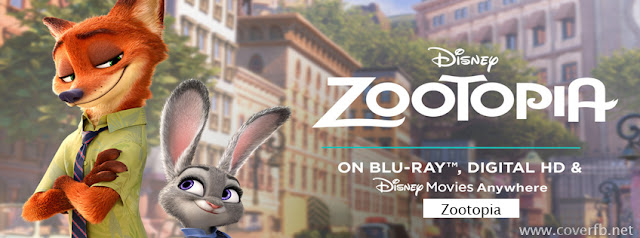 Zootopia facebook cover