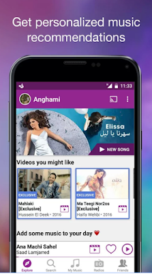 Download Anghami - Free Unlimited Music v2.3.7 Mod APK