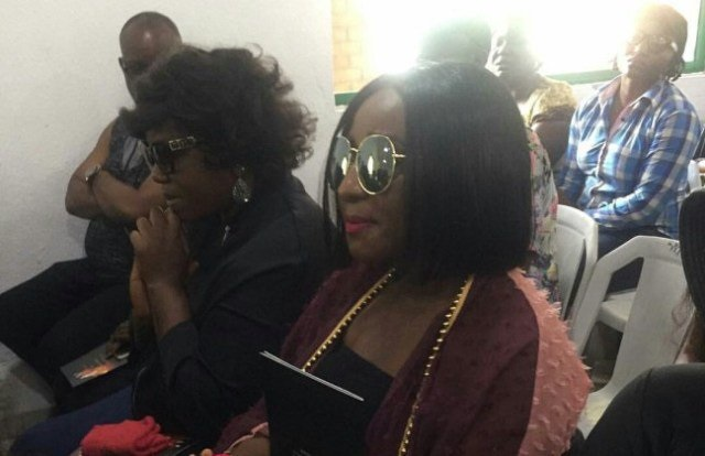 PHOTOS: Ini Edo, Rita Dominic, others join Eucharia Anunobi as she buries her only son