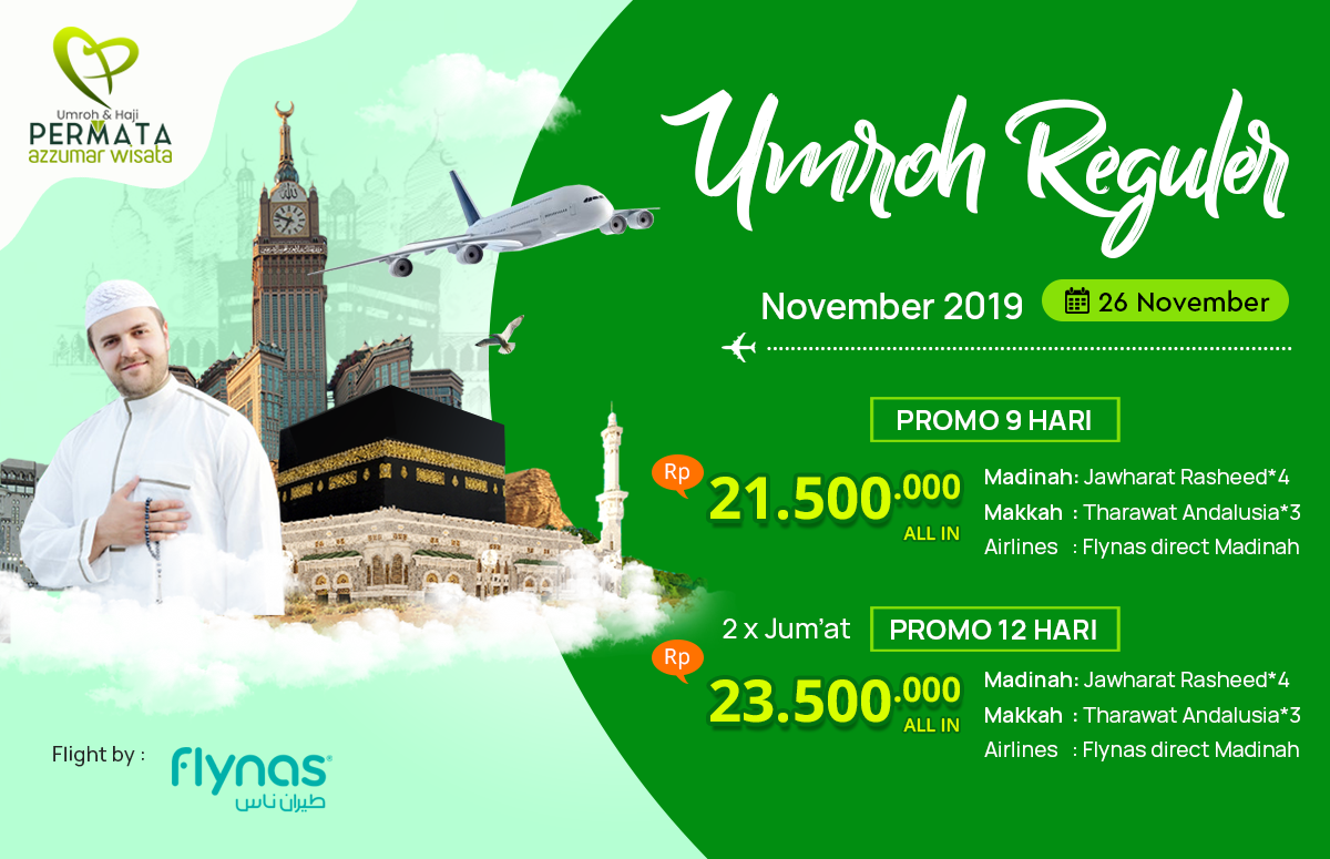 program umroh november 12 hari 2019