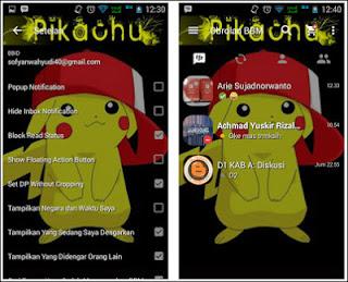 Download Gratis BBM MOD POKEMON GO V2.13.1.14 terbaru